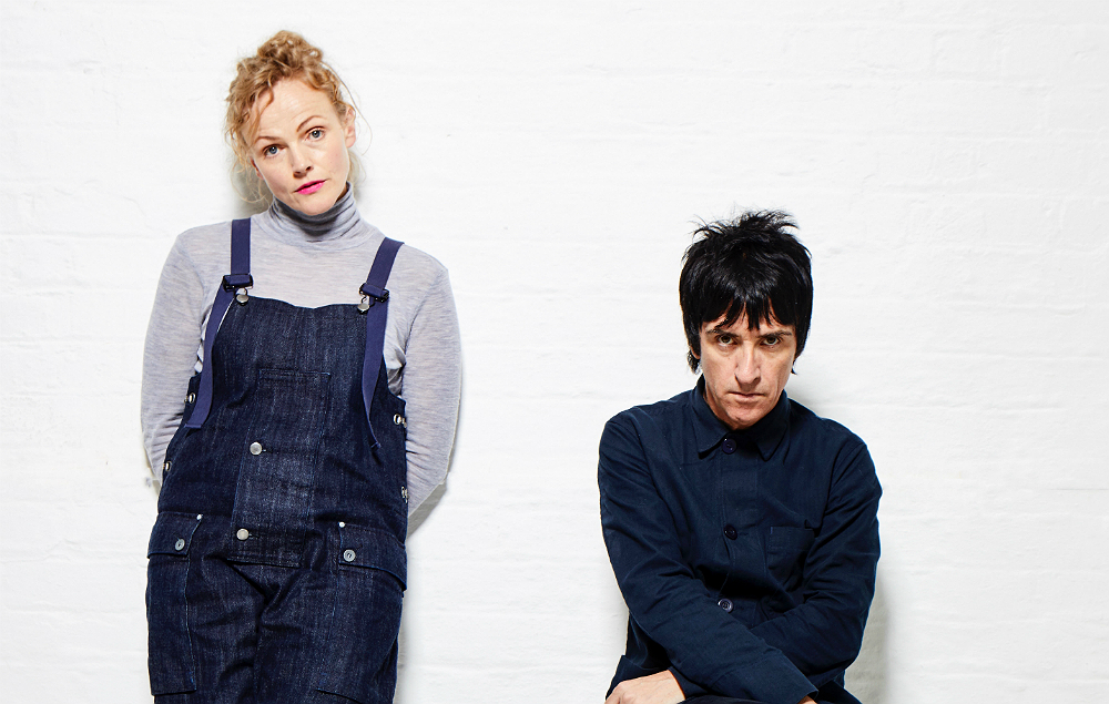 Maxine Peak and Johnny Marr