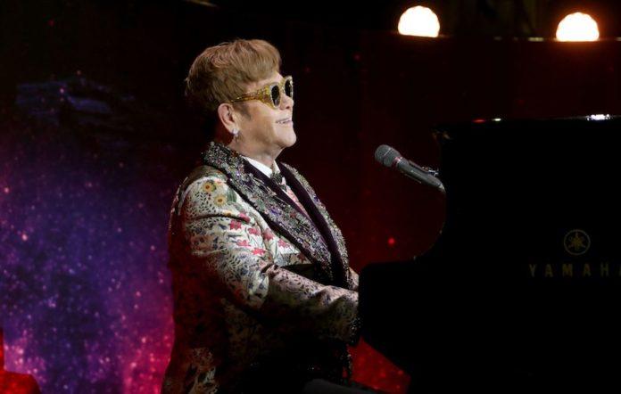 Elton John press conference