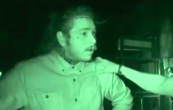 Post Malone in 'Ghost Adventures'