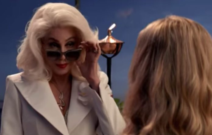 Cher in the latest 'Mamma Mia! Here We Go Again' trailer