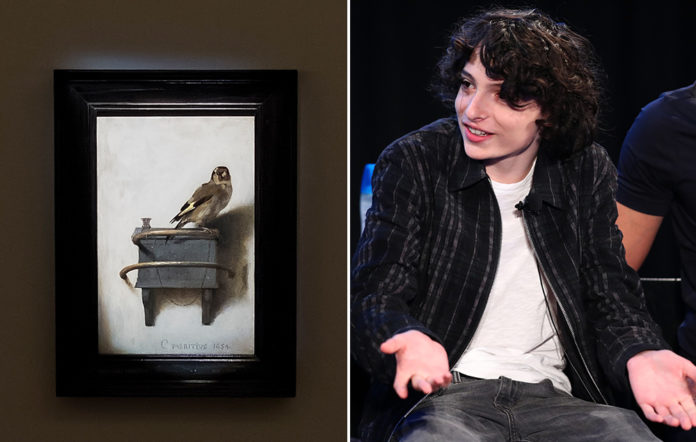 The Goldfinch and Finn Wolfhard