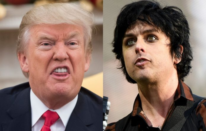 Donald Trump and Billie Joe Armstrong