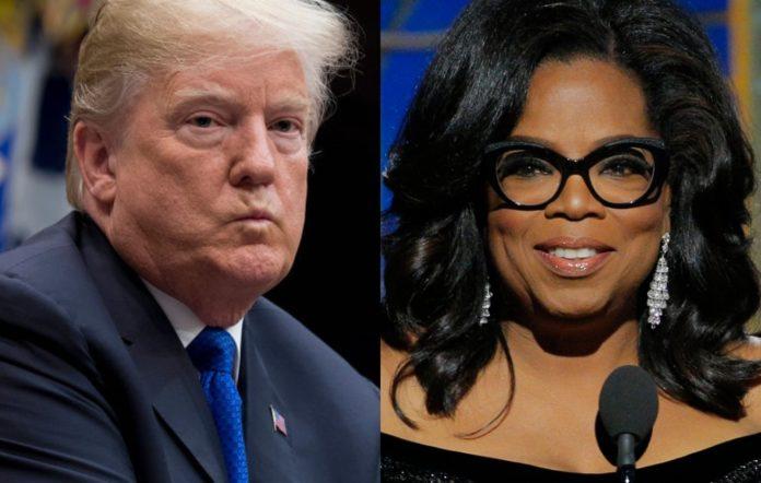 Donald Trump and Oprah Winfrey