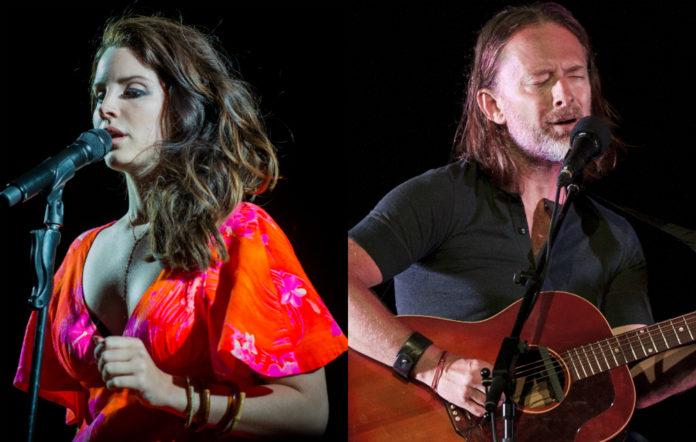 Lana Del Rey and Radiohead's Thom Yorke