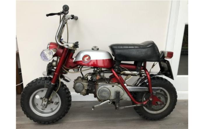 John Lennon motorbike