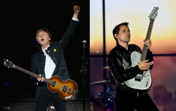 Sir Paul McCartney / Matt Bellamy