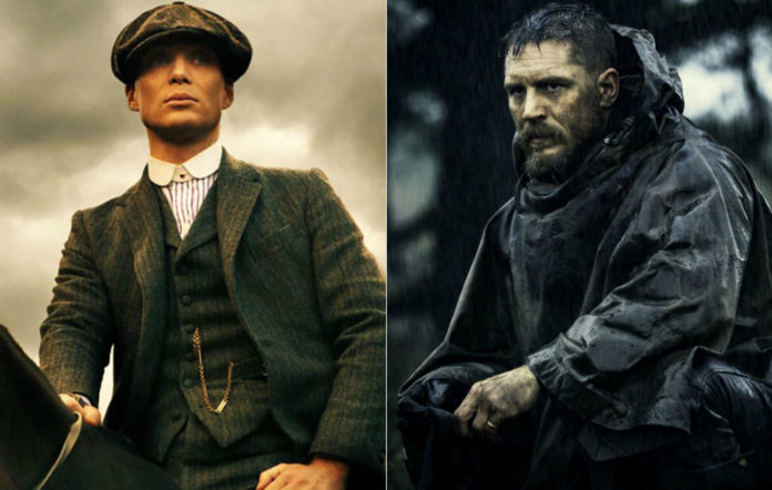Cillian Murphy in 'Peaky Blinders' and Tom Hardy in 'Taboo'