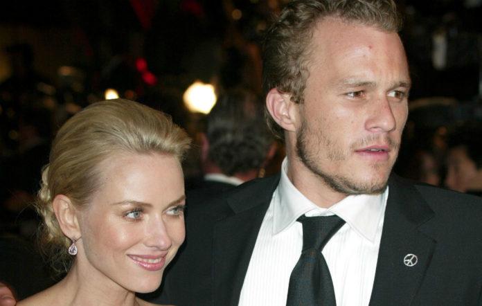 Naomi Watts and Heath Ledger at the Oscars 2004