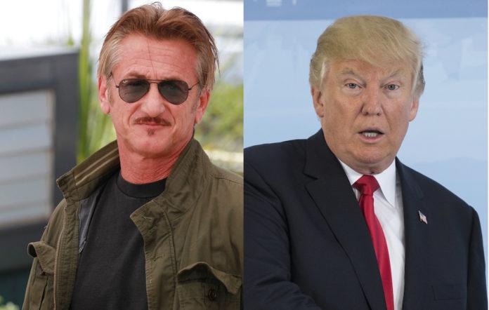Sean Penn Donald Trump