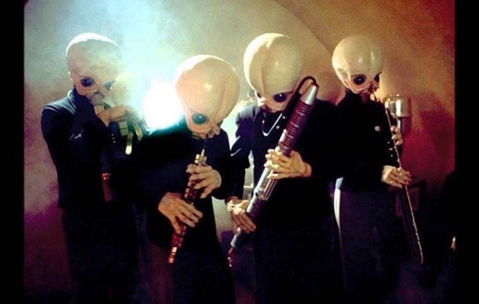 Star Wars' cantina band
