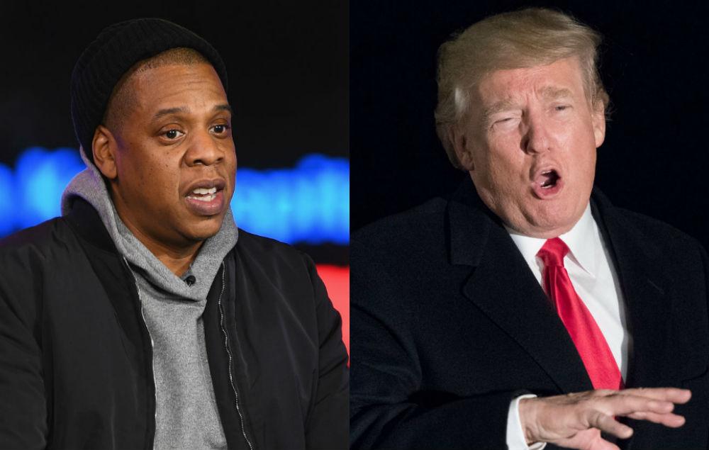 Jay-Z and Trump