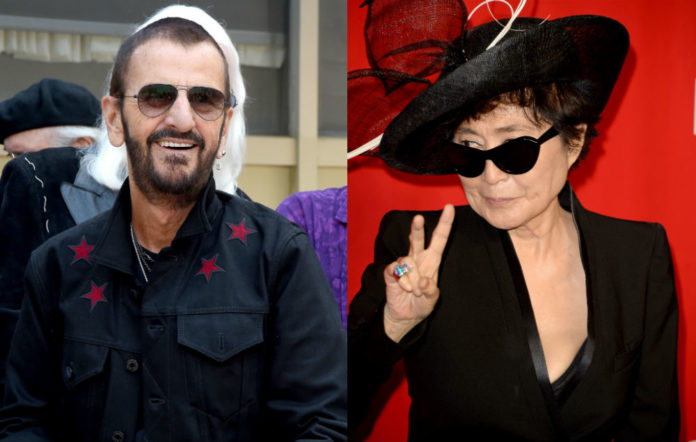 Yoko Ono Ringo Starr knighthood
