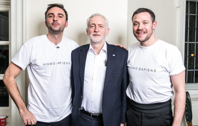 Jeremy Corbyn podcast