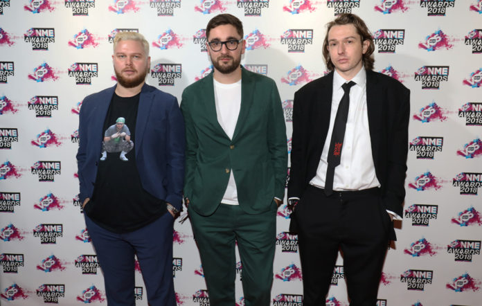 Alt-J at the VO5 NME Awards 2018