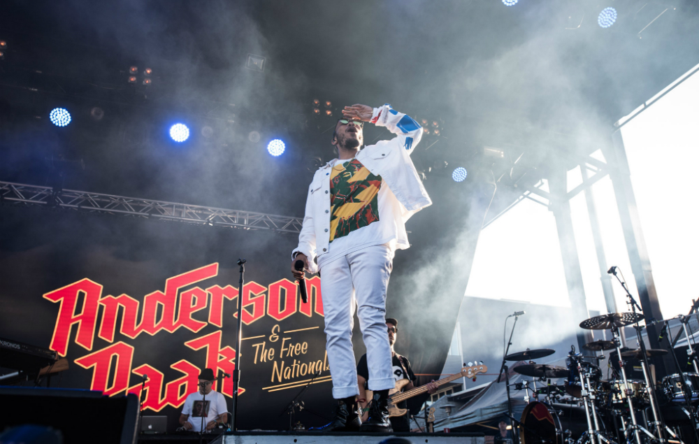 Anderson Paak - Laneway Festival Melbourne 2018