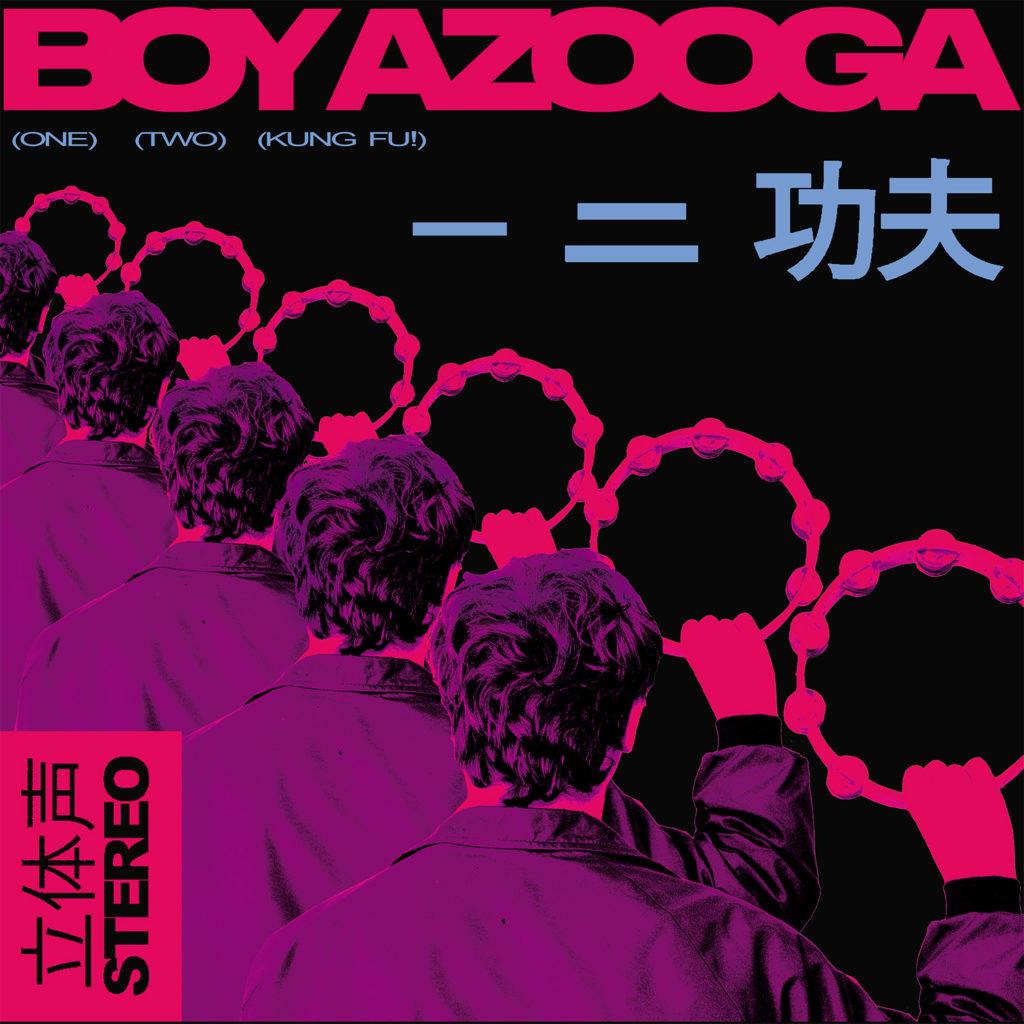 Boy Azooga '1,2 Kung Fu!' cover art