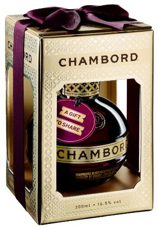 Chambord ribbon box