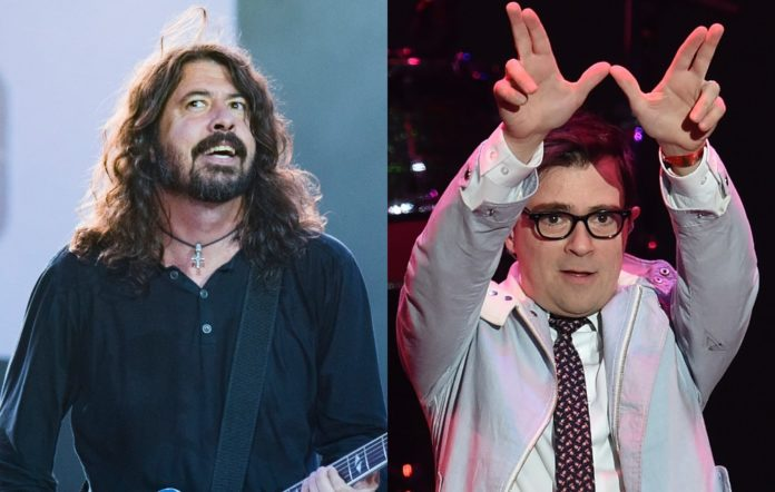 Foo Fighters' Dave Grohl and Weezer's Rivers Cuomo