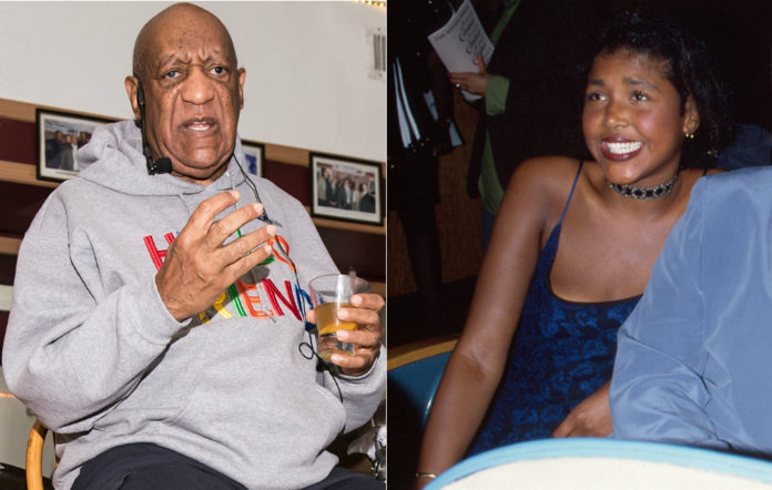 Bill Cosby and daughter Ensa