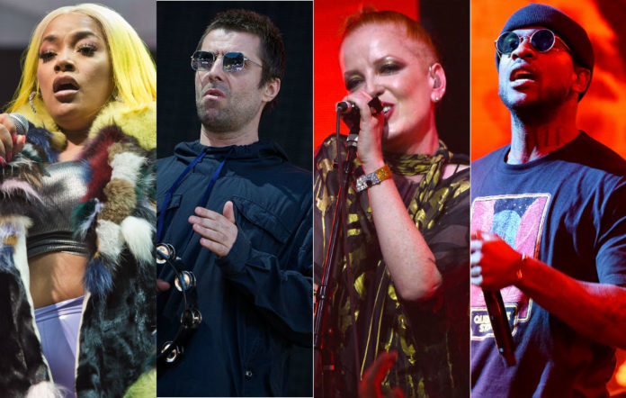 Stefflon Don, Liam Gallagher, Garbage's Shirley Manson and Skepta will all be appearing at the VO5 NME Awards 2018