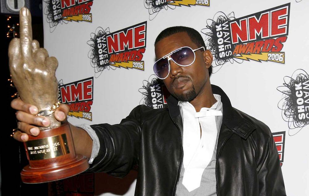 Kanye West NME Awards