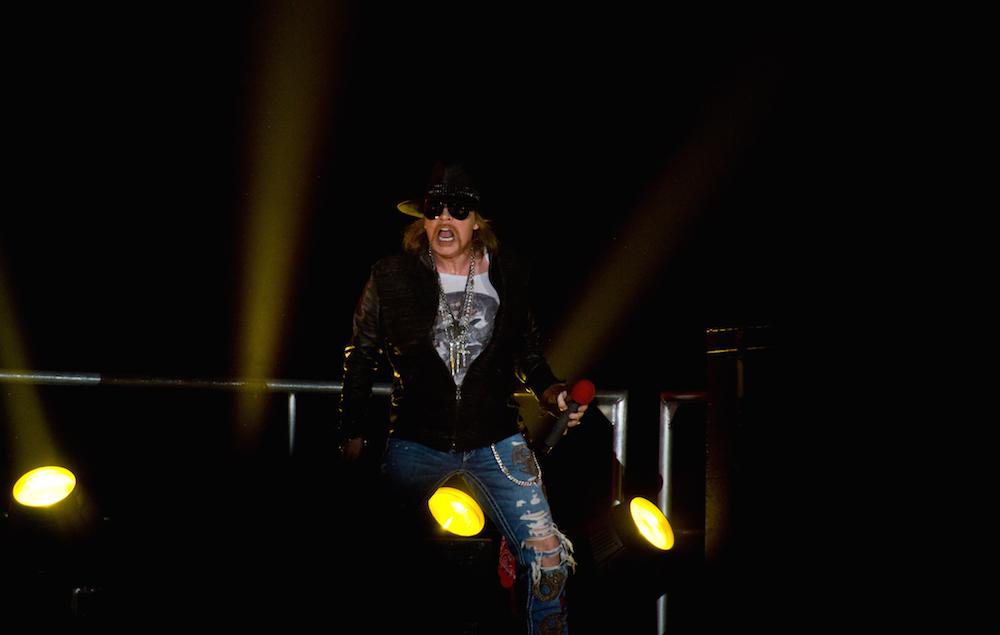 Guns N Roses Portrait And Live Shoot