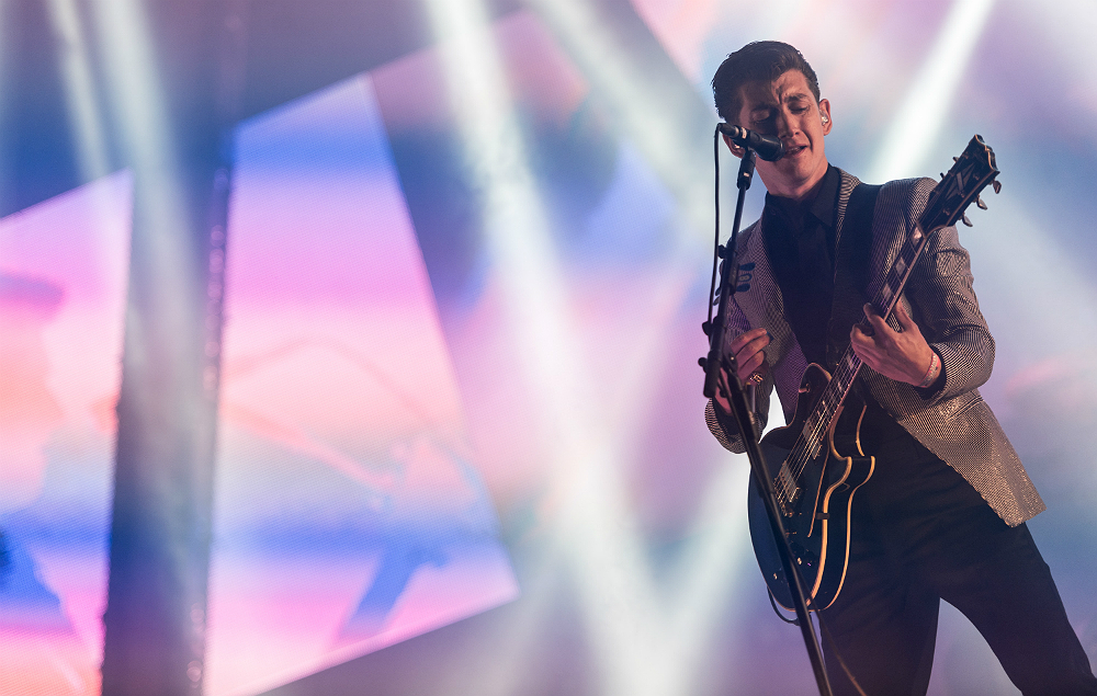 Arctic Monkeys live at Glastonbury 2013