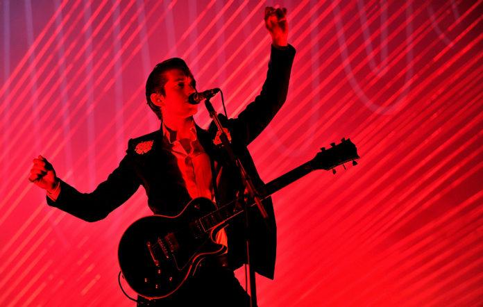 Arctic Monkeys' Alex Turner live
