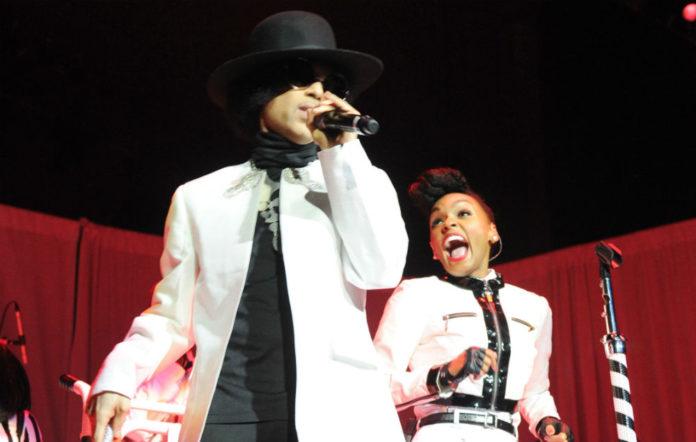 Prince and Janelle Monáe
