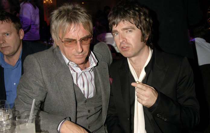 Paul Weller and Noel Gallagher in 2006