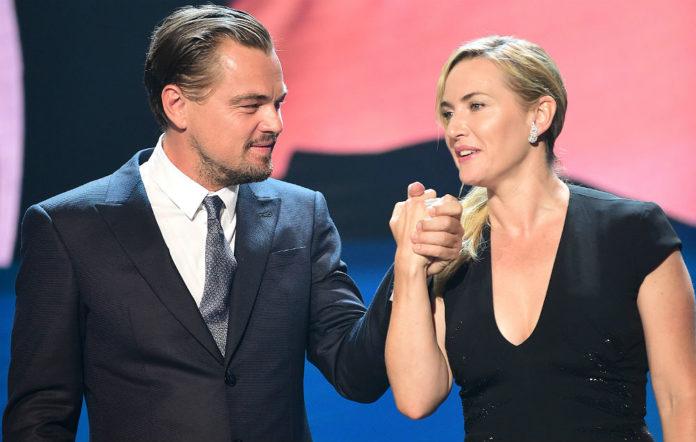 Leonardo Di Caprio and Kate Winslet