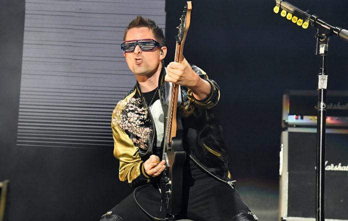 Muse's Matt Bellamy live