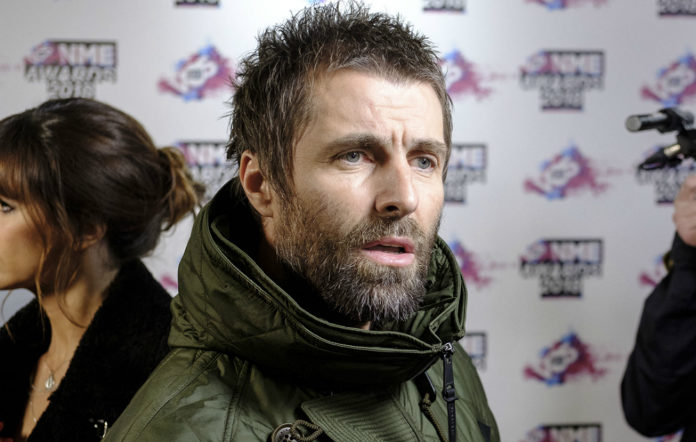 Liam Gallagher at the VO5 NME Awards 2018