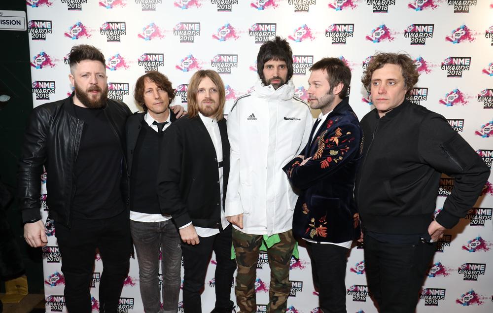 Kasabian, NME Awards 2018, Red Carpet