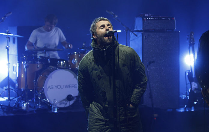 Liam Gallagher, NME Awards 2018, Live