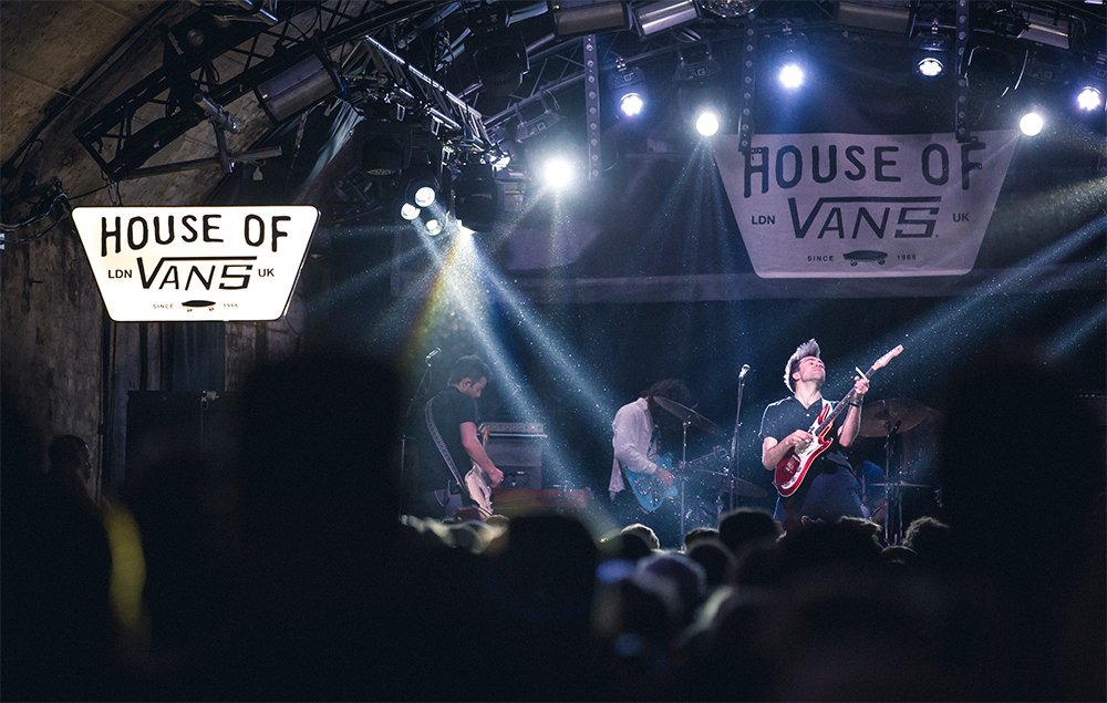 The Vaccines at the House of Vans