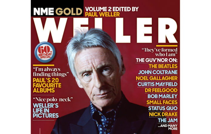 Paul Weller is the latest star for NME Gold