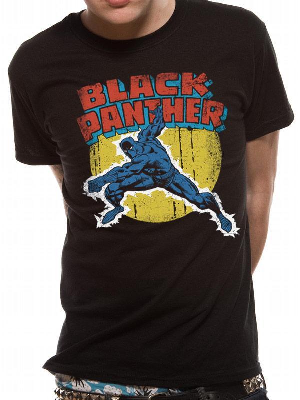 Black Panther Vintage Comic Men's T-Shirt Previous Product