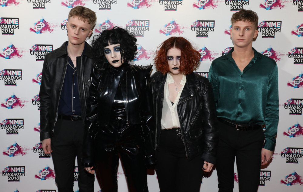 Pale Waves NME awards 2018