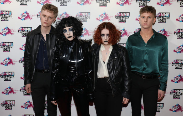 Pale Waves NME awards 2018 Red Carpet