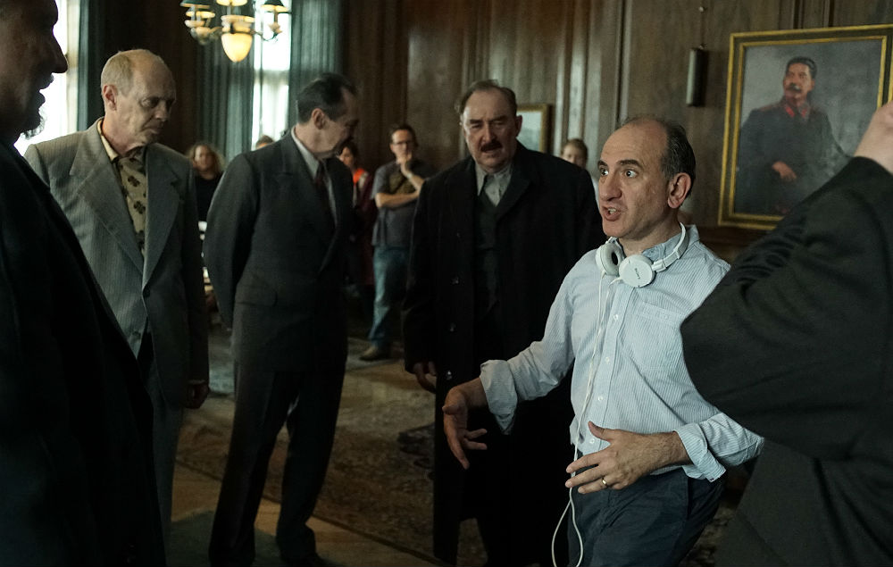 Armando Iannucci shooting 'The Death Of Stalin'