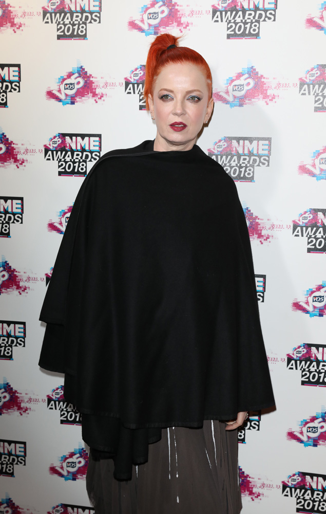 Shirley Manson at the VO5 NME Awards 2018