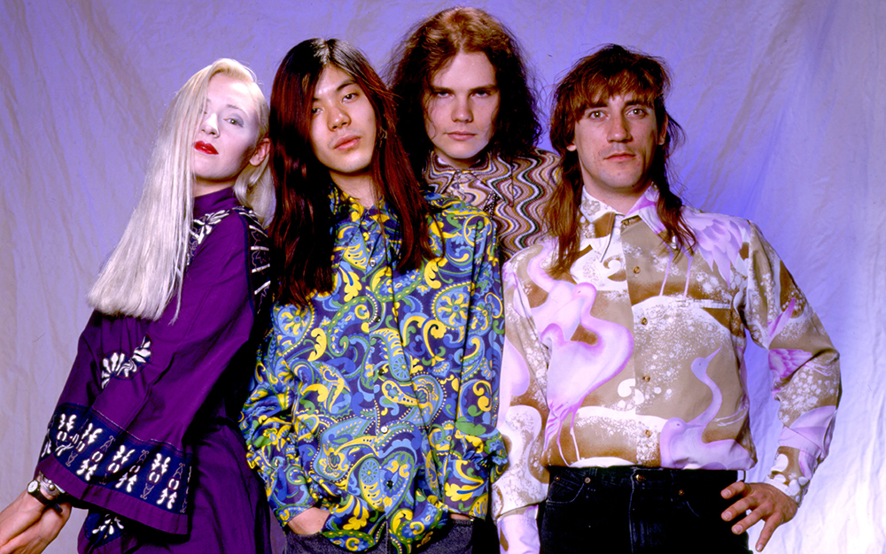 Smashing Pumpkins on 5/10/91 in Chicago, Il. (Photo by Paul Natkin/WireImage)
