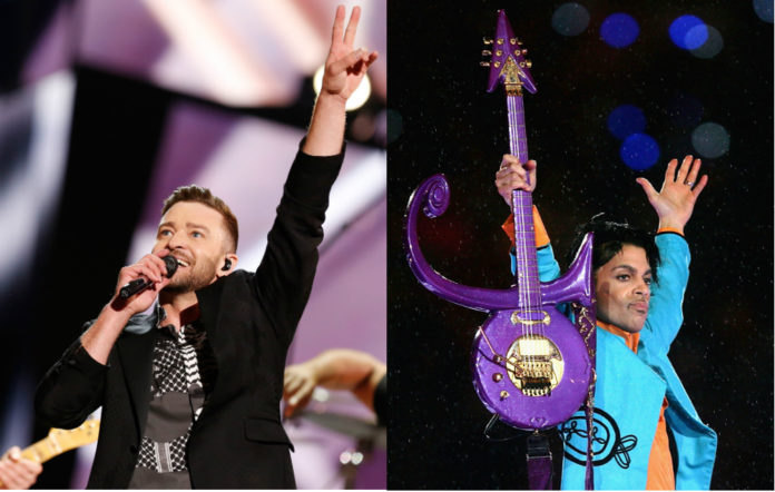Justin Timberlake and Prince
