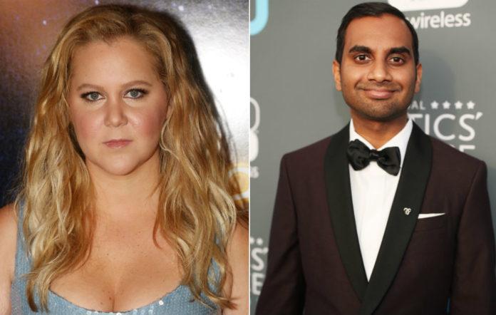 Amy Schumer has defended Aziz Ansari