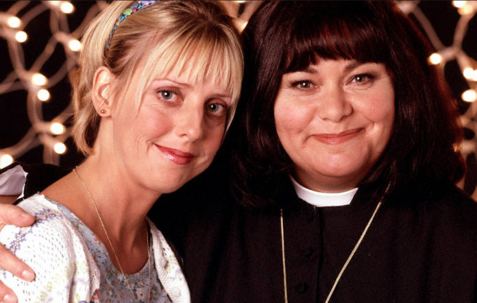 Emma Chambers and Dawn French