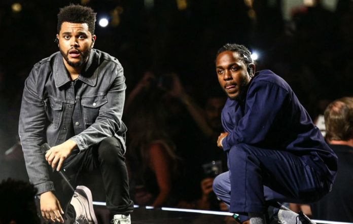 Kendrck Lamar and The Weeknd have joined forces for the 'Black Panther' soundtrack