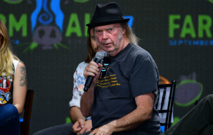 neil young record labels killed pono