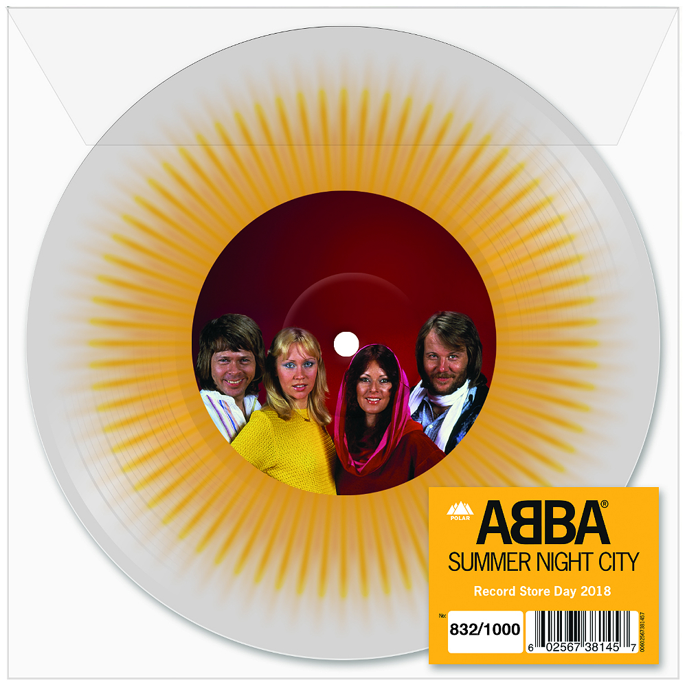 Abba re-release 'Summer Night City' for Record Store Day