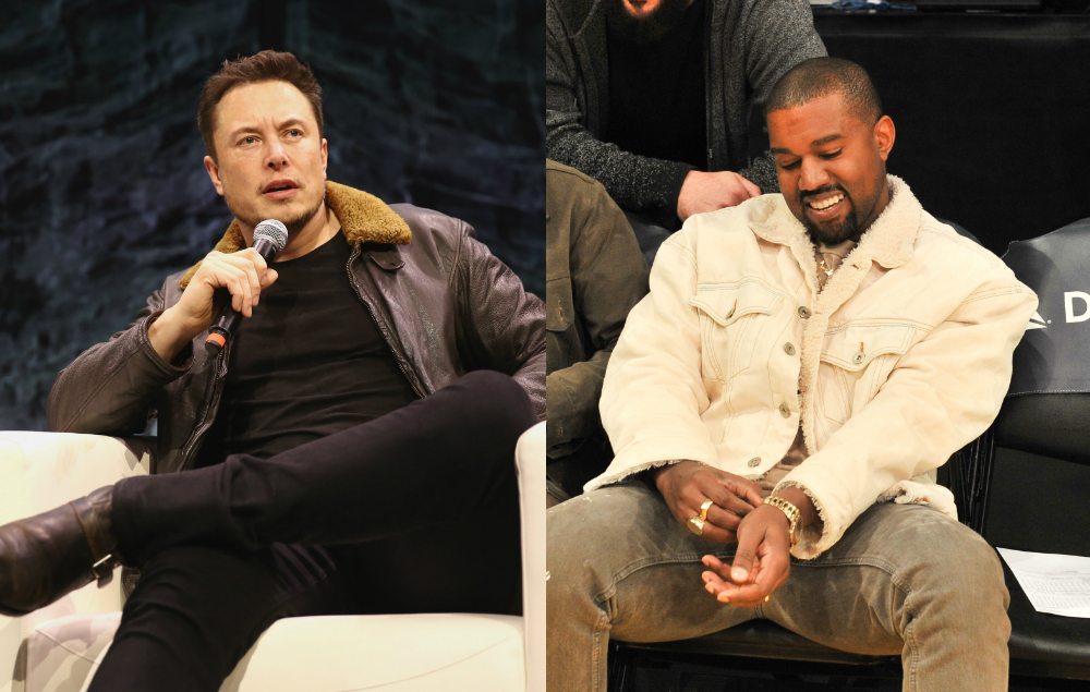 Elon Musk says that Kanye West inspires him - NME Live